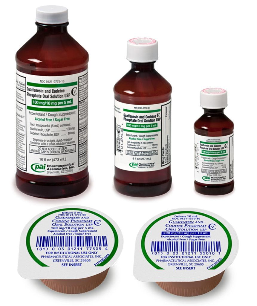 Guaifenesin Codeine Phosphate Oral Solution Usp Alcohol And Sugar